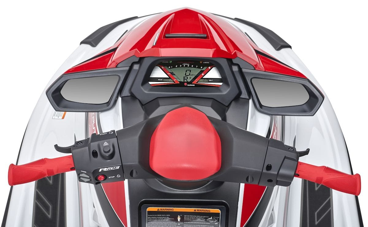 2019 Yamaha VXR EU Torch Red Metallic Detail 007 Tablet