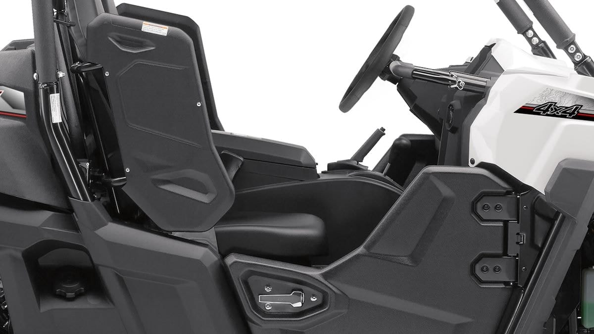2018 Yamaha YXE700E EU White Detail 003 03 Tablet
