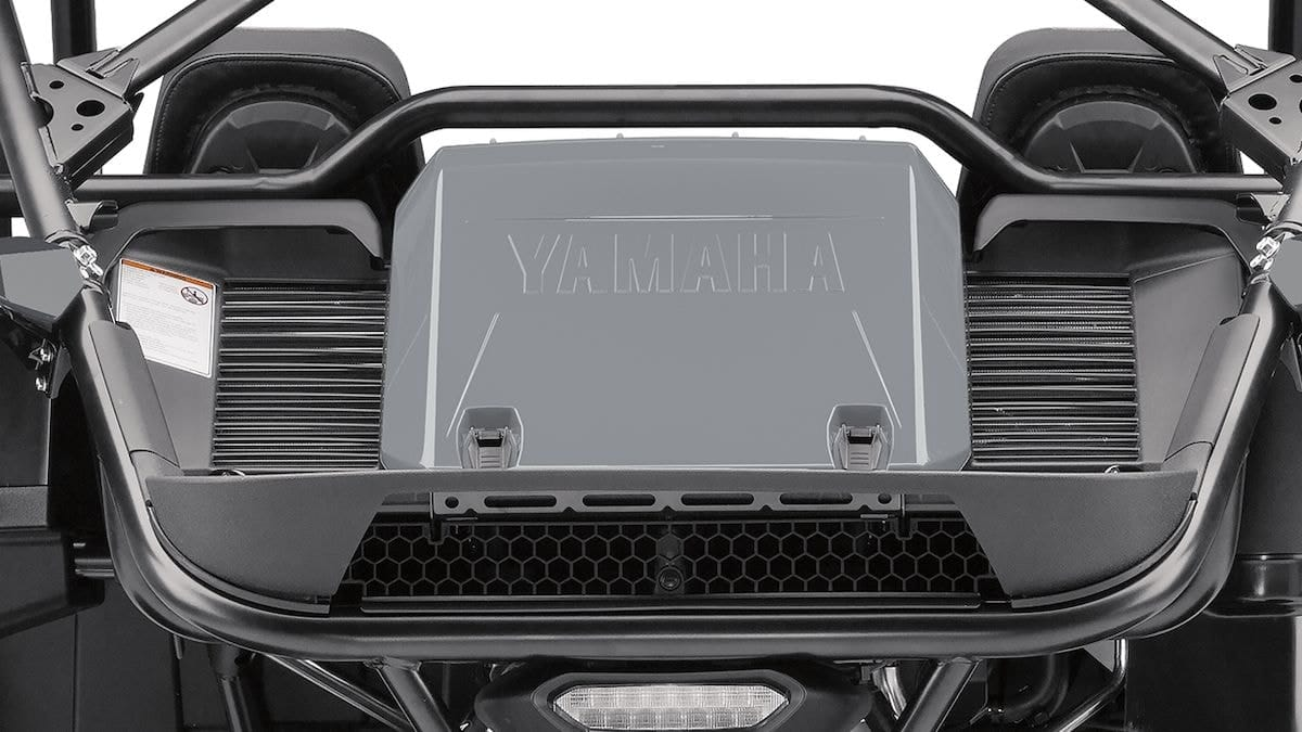 2019 Yamaha YXZ1000ESS EU Stormcloud Grey Detail 002 03 Tablet