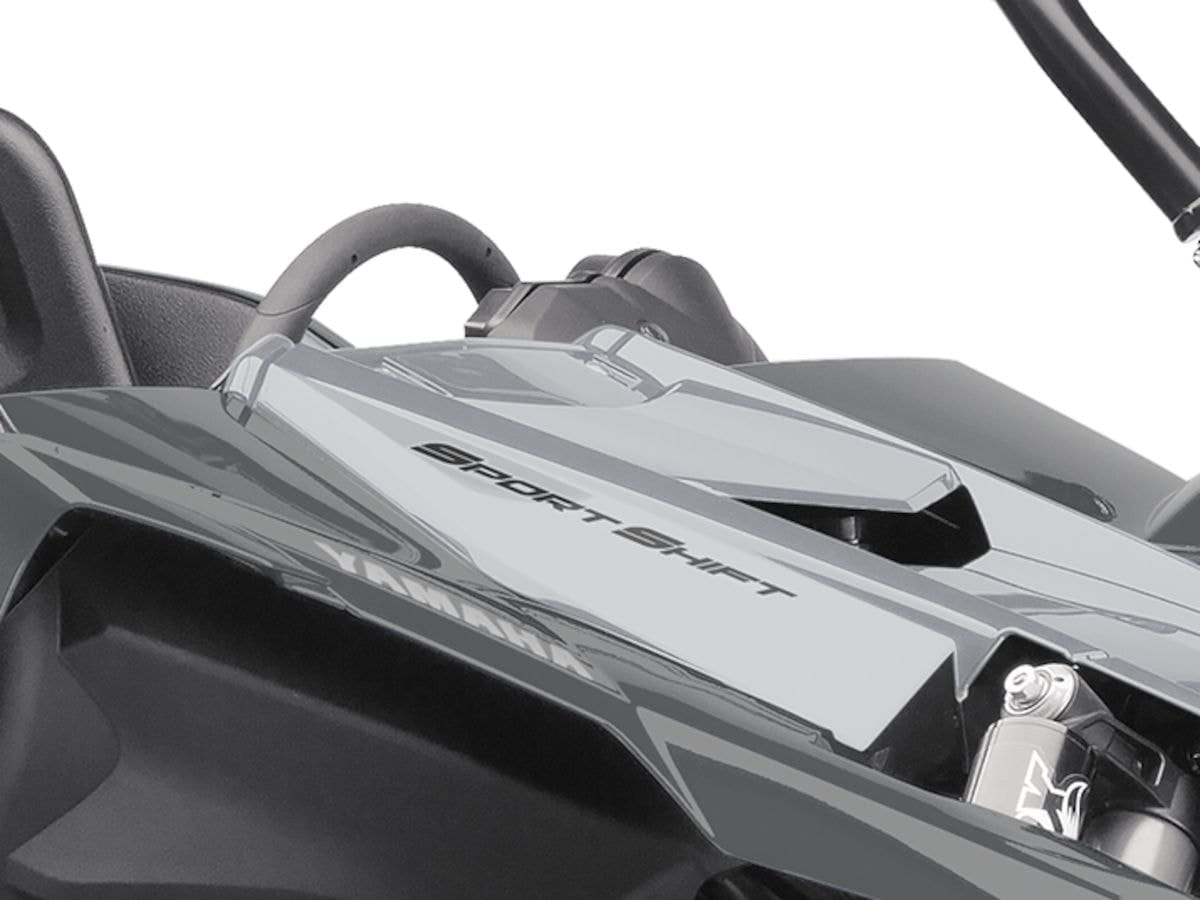 2019 Yamaha YXZ1000ESS EU Stormcloud Grey Detail 004 Tablet