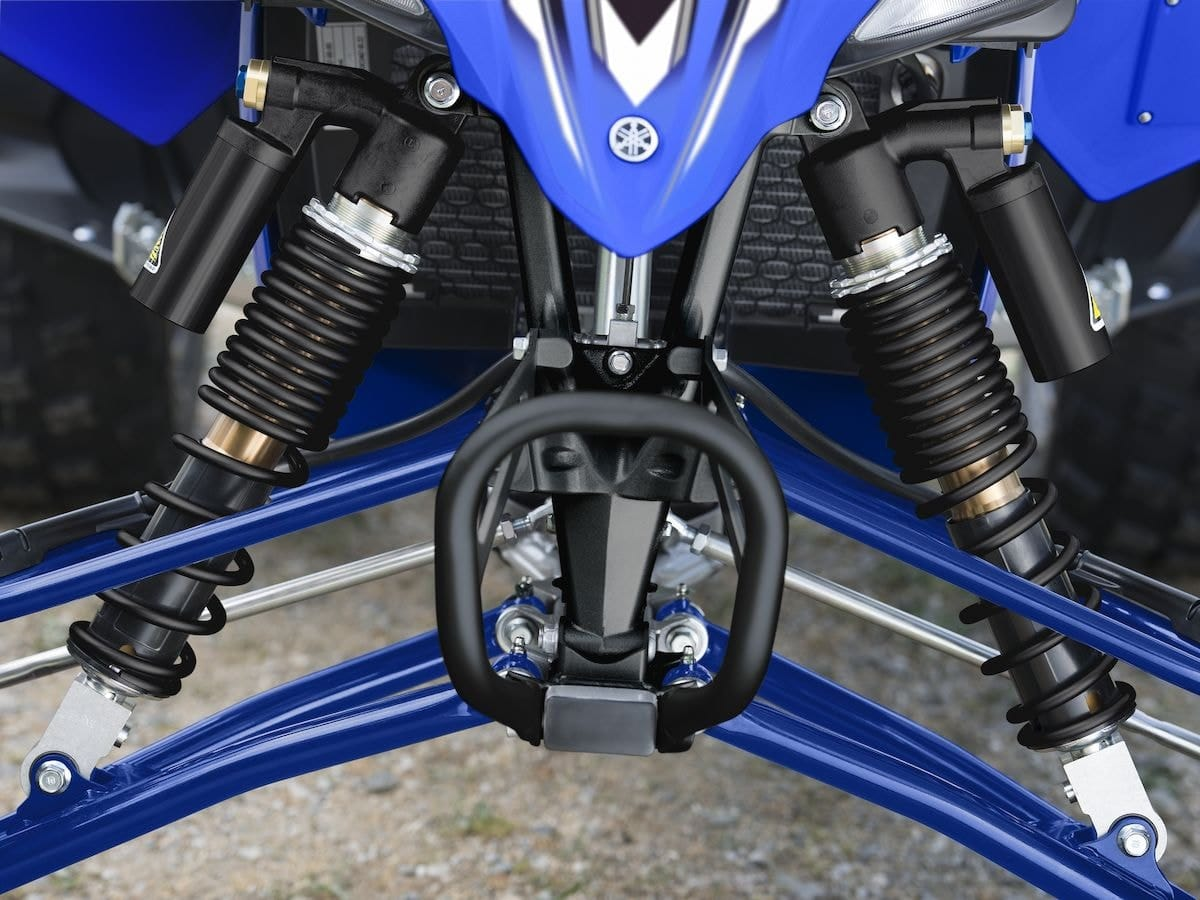 2019 Yamaha YFZ450R EU Racing Blue Detail 006 Tablet